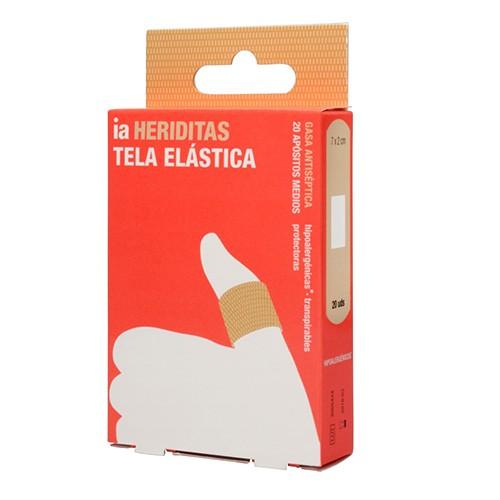 Interapothek Apósito Adhesivo Tela Elástica (20 ud)