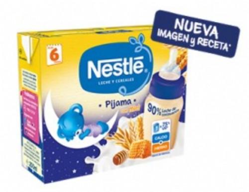 Nestle Pijama leche y cereales para dormir con miel - lista para tomar (brick 250 ml x 2 ud)