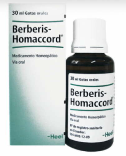 Berberis Homaccord Heel Gotas (30 ml)