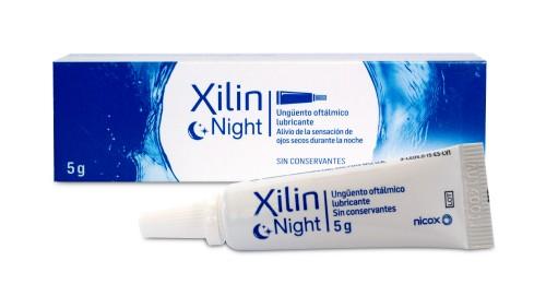 XILIN NIGHT MULTIDOSIS - UNGUENTO OFTALMICO LUBRICANTE (5 G)