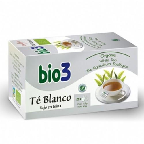Bio3 Té Blanco Ecológico (25 filtros)