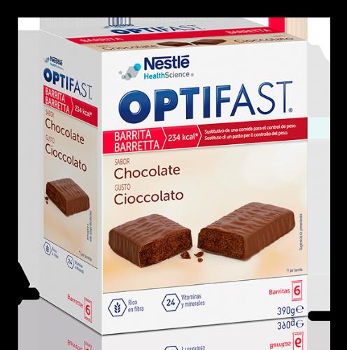 Optifast Barritas Sabor Chocolate (6 ud)