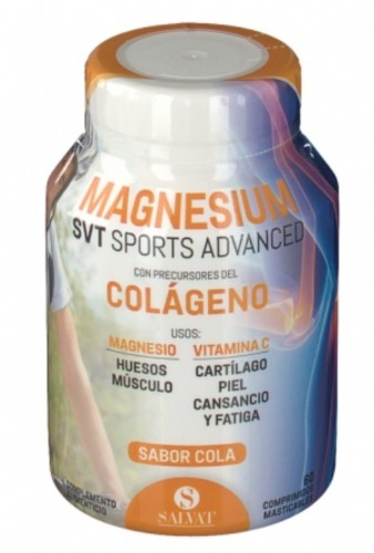 Salvat Magnesium svt Sports Advanced (60 comp masticables)