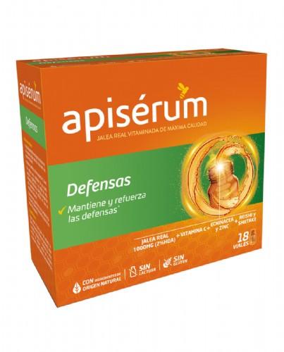 Apisérum Defensas Jalea Real Vitaminada (18 viales bebibles)