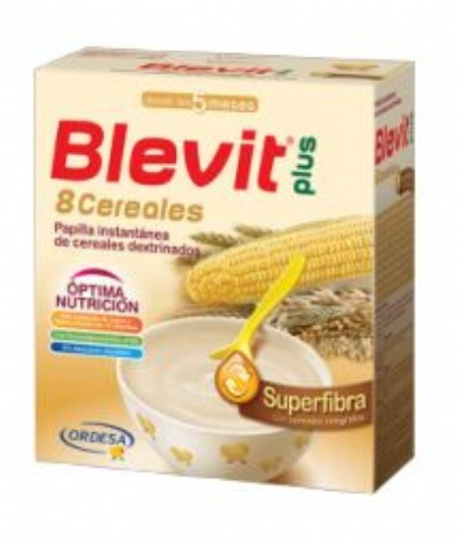 BLEVIT PLUS GAMA SUPERFIBRA 8 CEREALES (600 G)