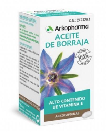Arkocápsulas Aceite de Borraja (50 cápsulas)