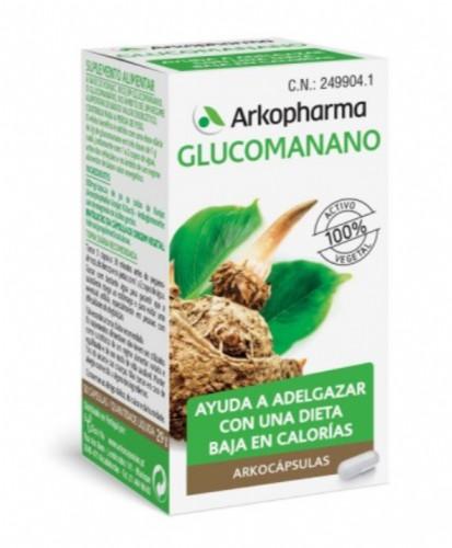 Arkocápsulas Glucomanano (50 cápsulas)