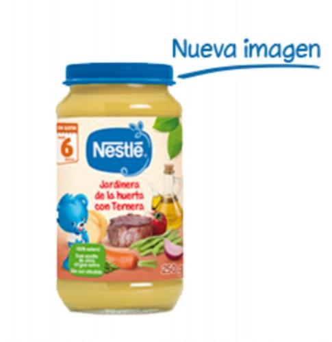 Nestlé Puré Jardinera de la huerta con ternera + 6m (250 g)