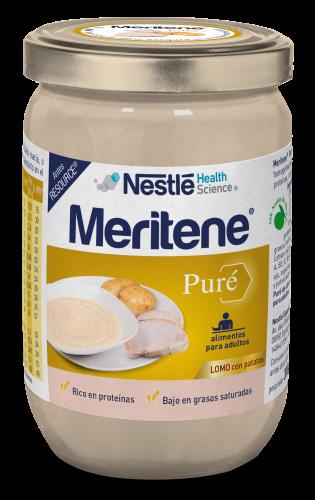Meritene Tarro Puré Lomo con patatas (300 g)