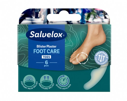 Salvelox Plaster Blister Small Apósitos hidrocoloides - 21 x 64 mm (6 ud)