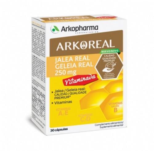 Arkoreal Jalea Real Vitaminada 250 mg (30 cápsulas)