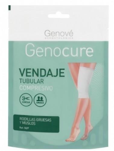 Genocure Vendaje Tubular Compresivo Rodillas Gruesas y Muslos Ref.50