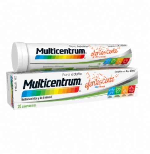 Multicentrum Adultos y adolescentes (20 comprimidos efervescentes)