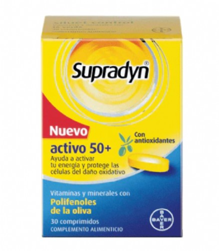 supradyn activo 50+