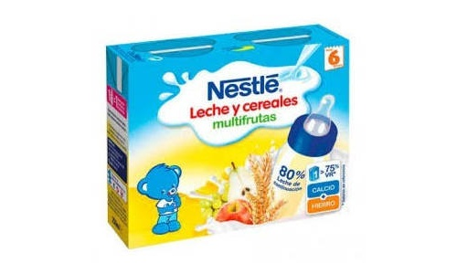 Nestlé Papilla Multifrutas lista para tomar (brick 250 ml x 2 ud)