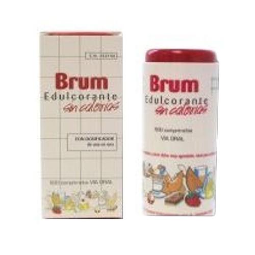 Brum edulcorante - sacarina y ciclamato (500 comp)