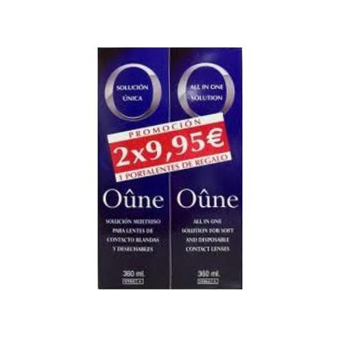 Oûne Solución única Lentes de Contacto Blandas (360 ml x 2 ud)