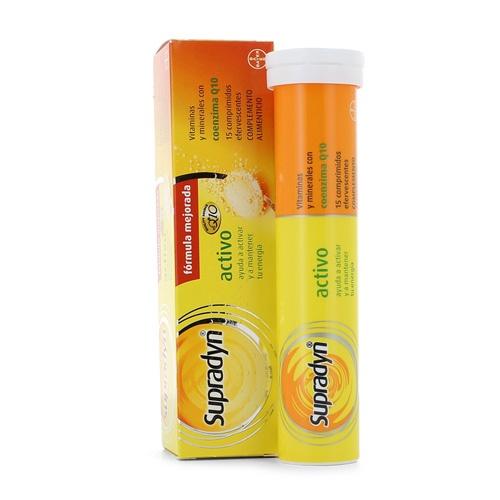 Supradyn Activo Efervescente (15 comprimidos efervescentes)