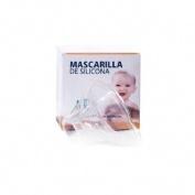 Mascarilla de silicona Pediatrics para Bebés de 0-18 meses (22 mm)
