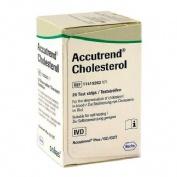 Tira reactiva colesterol - accutrend (25 u)