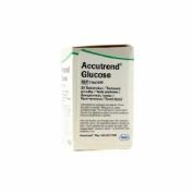 Tiras reactivas glucemia - accutrend glucosa (25 tiras)