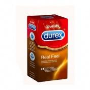 Durex Preservativos Real Feel (24 ud)