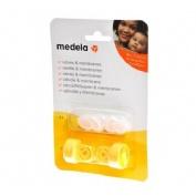 Medela Recambio de 2 Válvulas y 6 Membranas para Extractores Tetina transparente