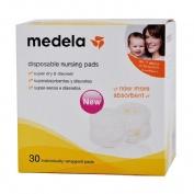 Medela Discos Desechables para lactancia Safe & Dry™(30 ud)