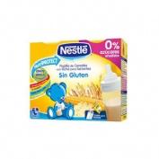 Nestle papilla cereales sin gluten - lista para tomar (brik 250 ml 2 u)
