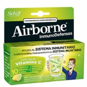 Airborne (inmunodefensas) comp efervescentes (limon 10 comp)