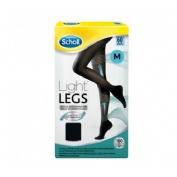 Dr. Scholl Medias de compresión ligera - Light Legs 60 DEN color negro - talla M