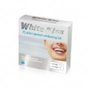 White kiss flash completo blanqueamiento dental (6 ml 2 tubos)