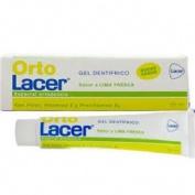 OrtoLacer Gel Dentifrico Lima Fresca (75 ml)