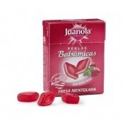 Juanola Perlas Balsámicas Fresa Mentolada (25 g)