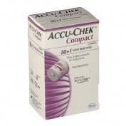 Tiras reactivas glucemia - accu-chek compact (3x 17 tiras)