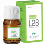 Lehning L28 Trastornos circulatorios Gotas (60 ml)