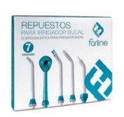 Farline Repuestos para Irrigador Bucal (incluye 7 boquillas)