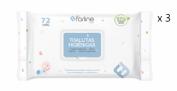 Farline Toallitas Higiénicas para Bebé (72 ud)