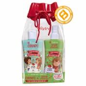 Farline Pack Champú y Spray desenredante con Aceite de árbol de té