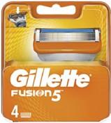 Gillette Recambios Maquinilla de Afeitar Fusion 5 Manual (4 ud)