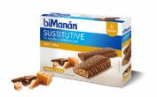 BiManán Sustitutive Barrita Sabor Toffee (40 g x 8 barritas)