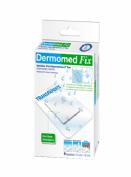 Dermomed fix apósitos adhesivos transparentes 10x7.5 cm 4 unidades