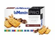 BiManán Galletas de cereales con pepitas de chocolate (16 u)