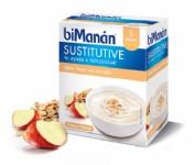 BiManán Sustitutive Crema Sabor Yogur con Cereales (6 sobres)