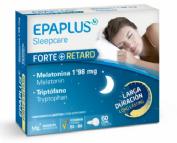 Epaplus Sleepcare Melatonina forte con triptófano (60 comprimidos)