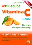 Bluecube Vitamina C + Zinc (60 cápsulas)