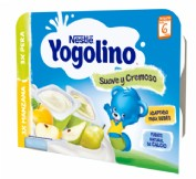 Nestlé Yogolino Suave y Cremoso Manzana / Pera +8 m (6 ud x 60 g)