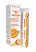 Farline Vitamina C + Zinc (20 comprimidos efervescentes)