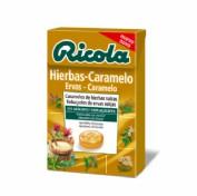 Ricola Caramelos Hierbas Caramelo con estevia (65 g)