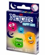 3M Nexcare Tiritas Happy Kids Monstruos (20 ud)